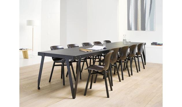 Functionals - Wendela Stuhl - schwarz - dunkle Sitzfläche - 2