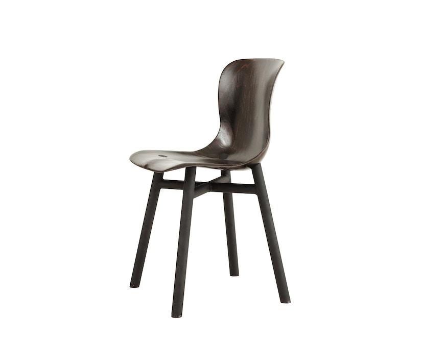 Functionals - Wendela Stuhl - schwarz - dunkle Sitzfläche - 1