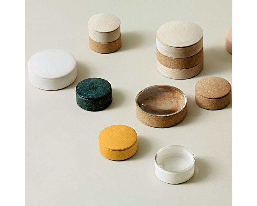 HAY - Lens Box steen - S - Marmer zwart - 2