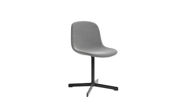 HAY - Neu Chair 10   - gepolstert - Gestell bordeaux - Sitzfläche Remix 543 - 1