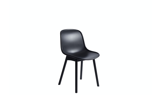 HAY - Neu Chair 13 - Eiche hell schwarz gebeizt - hell schwarz - 1