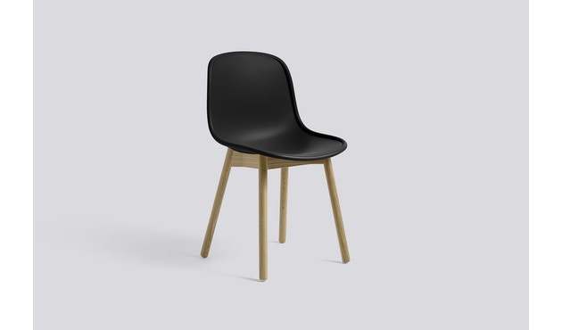 HAY - Neu Chair 13 - Eiche matt lackiert - helles schwarz - 2