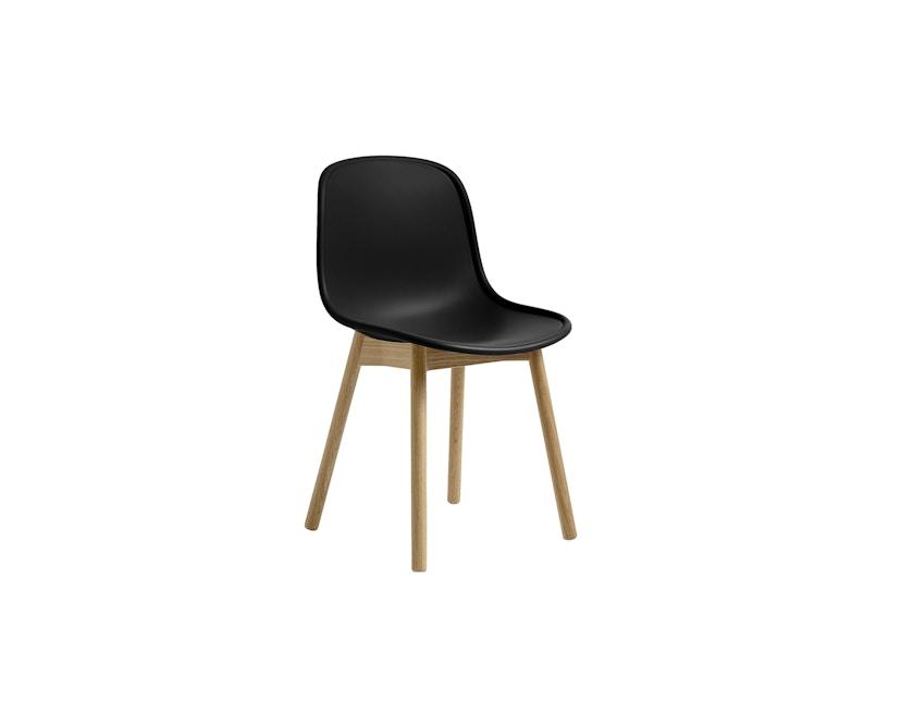 HAY - Neu Chair 13 - Eiche matt lackiert - helles schwarz - 1