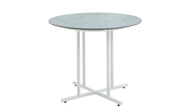 Gloster - Whirl Tisch - Keramik - 90 cm - Gestell weiss - 1