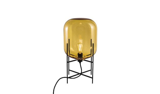 Pulpo - Oda Small Stehleuchte - Glas amber, Untergestell schwarz - 2