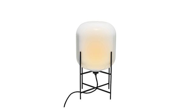 Pulpo - Oda Small Stehleuchte - Glas weiß opak, Untergestell schwarz - 4