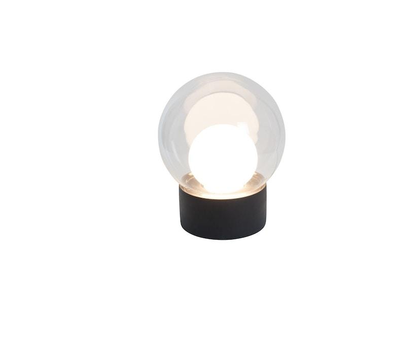 Pulpo - Pulpo Boule Tischleuchte Small - transparent/opalweiß/schwarz - 2