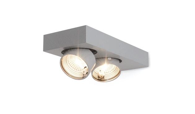 Mawa Design - Alkersum Wandleuchte - schwarz matt mawa 9005 - Halogen - 2 Strahler - 1