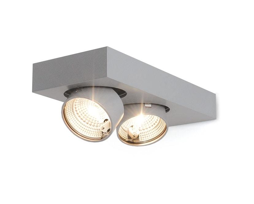 Mawa Design - Alkasum Wandlamp - een spotlicht - Halogeen - Metallic - 1