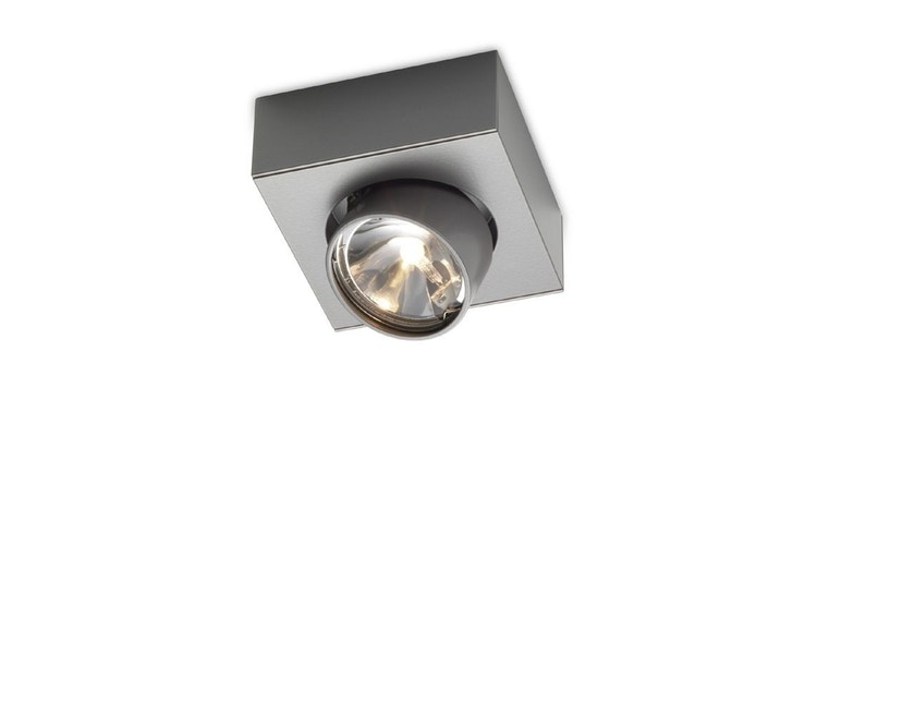 Mawa Design - wi-ab-125-1e Aufbaustrahler - Halogen - metallic DB 702 - 1