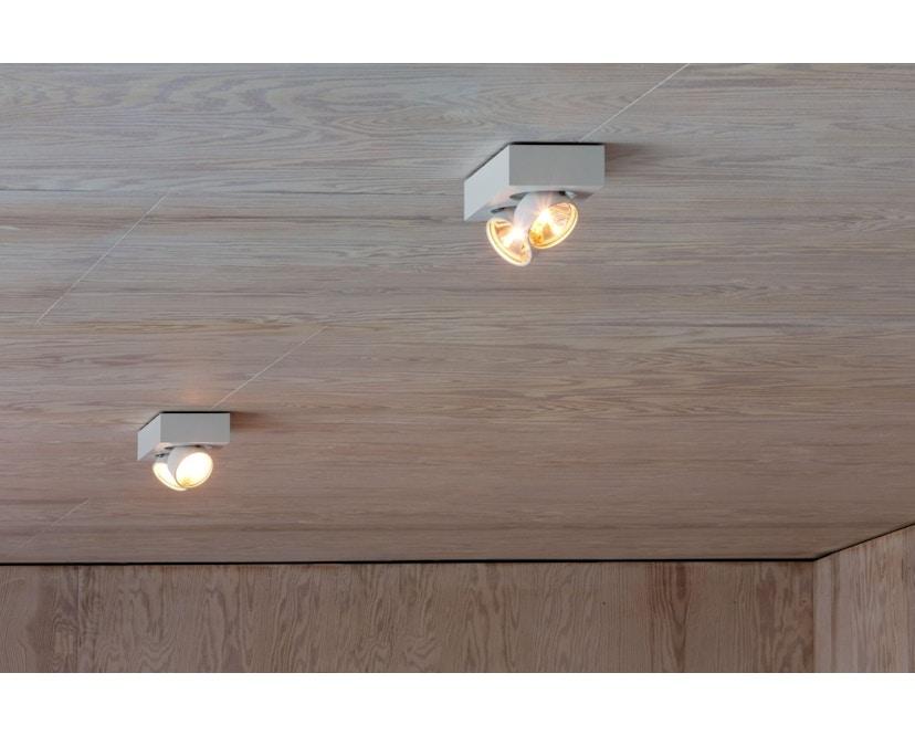 Mawa Design - wi-ab-125-2e Aufbaustrahler - Halogen - weiß matt RAL 9016 - 2