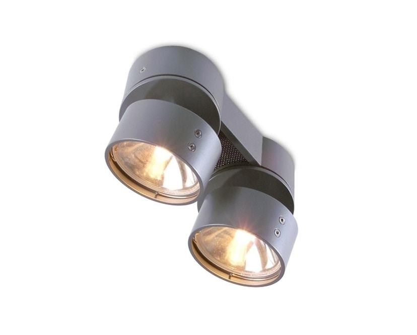 Mawa Design - Fernglas Aufbauleuchte - metallic DB 702 - Halogen - 2 Strahler - 1