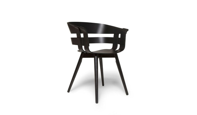 Design House Stockholm - Wick Chair - schwarz - Holzgestell - 2