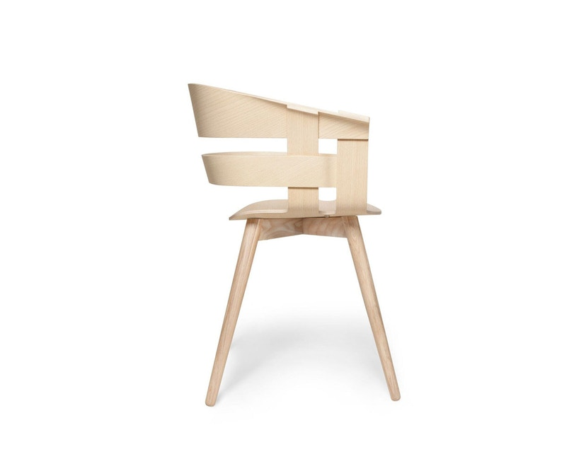 Design House Stockholm - Wick Chair - Eiche - Holzgestell - 2