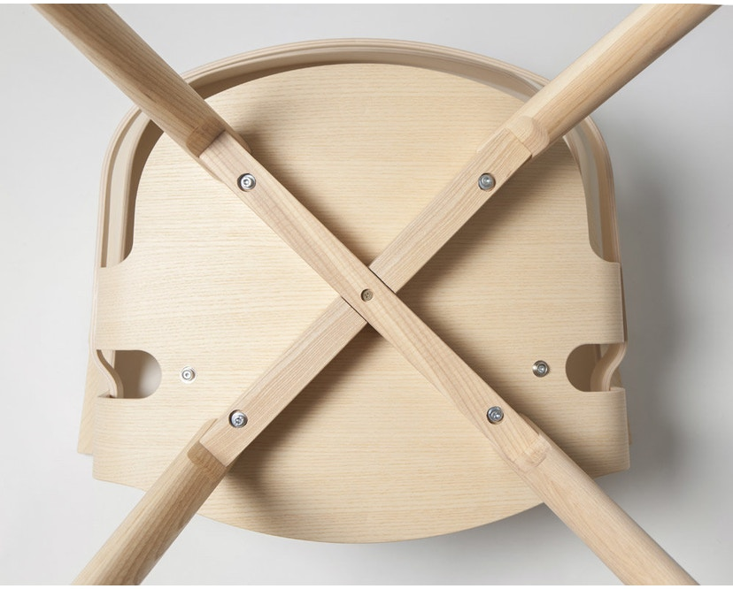 Design House Stockholm - Wick Chair - Eiche - Holzgestell - 5