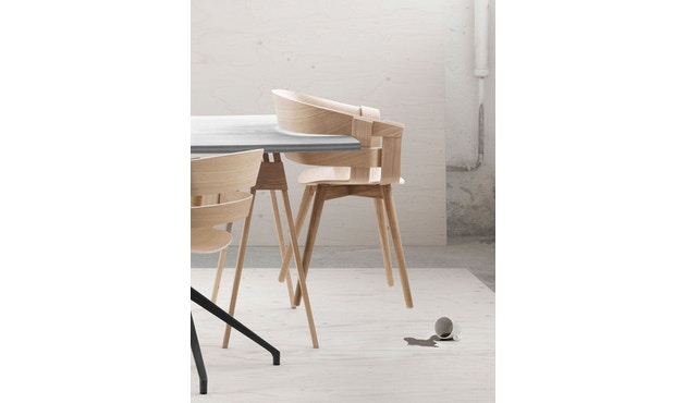 Design House Stockholm - Wick Chair - Eiche - Holzgestell - 8