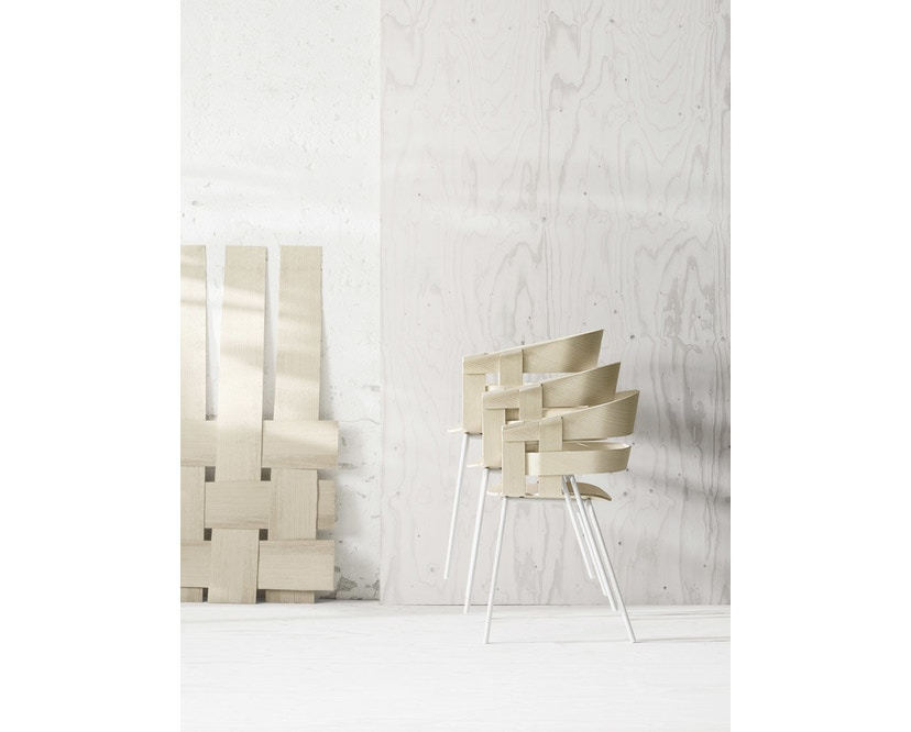 Design House Stockholm - Wick Chair - Eiche - Stahlgestell - 2