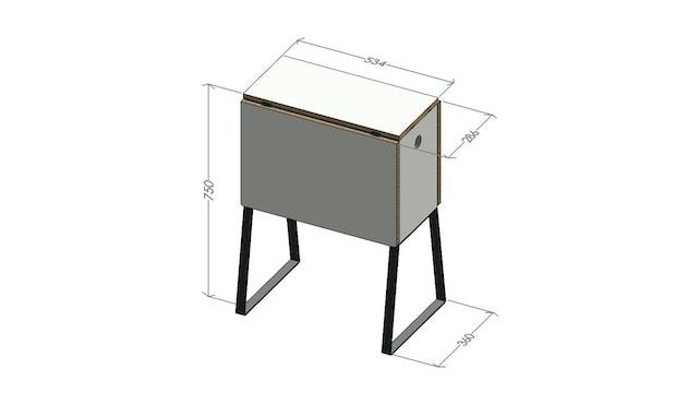 Müller Möbelwerkstätten - Wingcube Klapptisch - 4