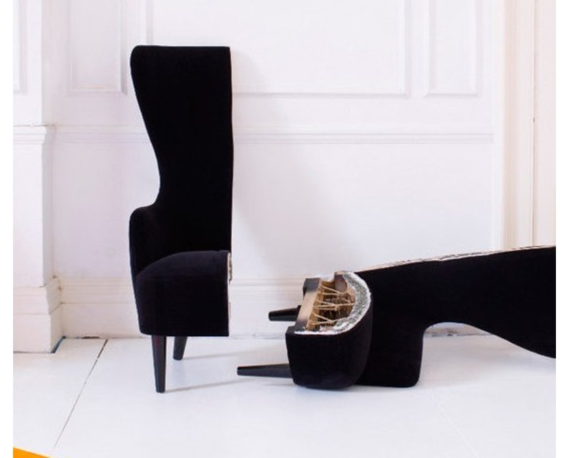 Tom Dixon - Wingback Sessel - 15