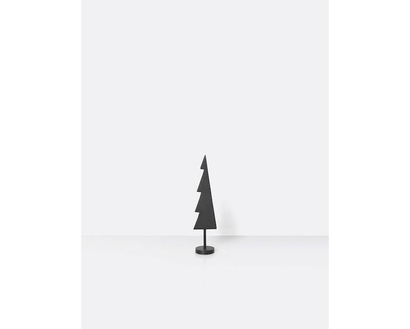 ferm LIVING - Winterland Messingbaum massiv schwarz - 3