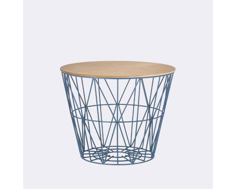 ferm LIVING - Wire Basket Top - Manddeksel - S - geolied eik - 2