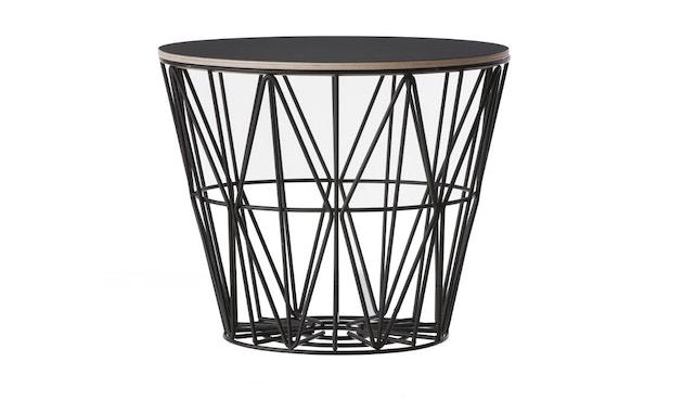 ferm LIVING - Wire Basket Top - Manddeksel - S - gerookte eik - 2