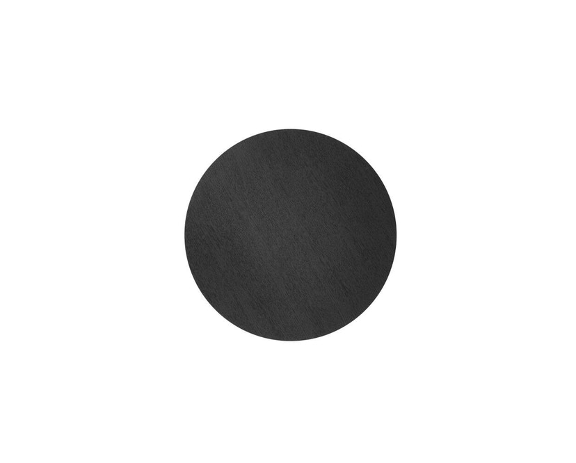 ferm LIVING - Wire Basket Korbdeckel - S - schwarz gebeizte Eiche - 4