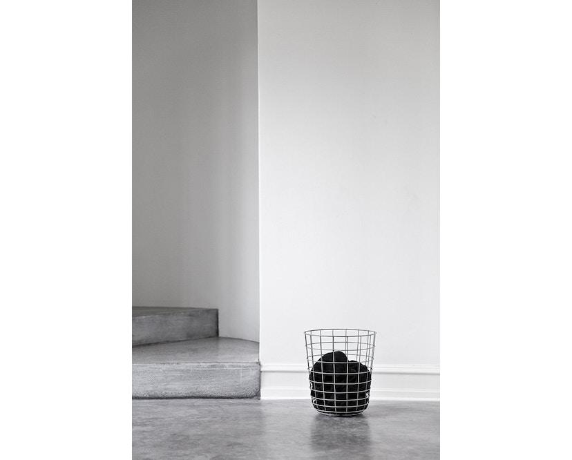 Menu - Wire Bin Papierkorb - schwarz - 3