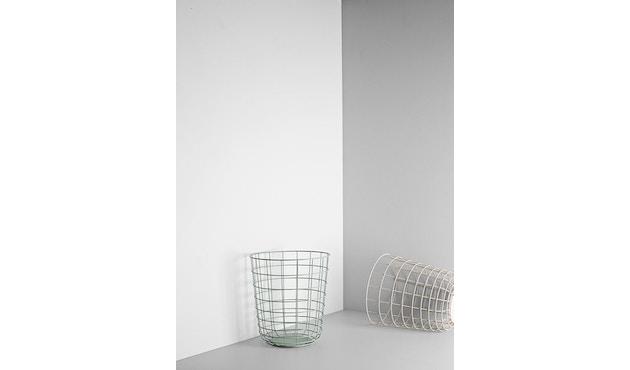 Menu - Wire Bin Papierkorb - schwarz - 6