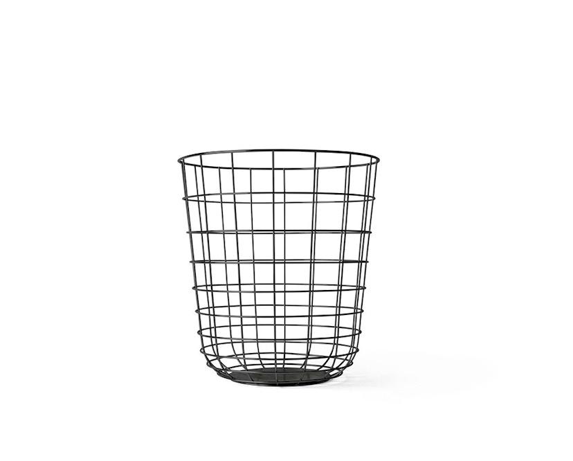 Menu - Wire Bin Papierkorb - schwarz - 1