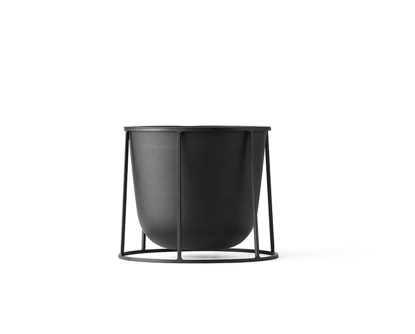 Menu - Wire Pot Blumentopf - schwarz - 2