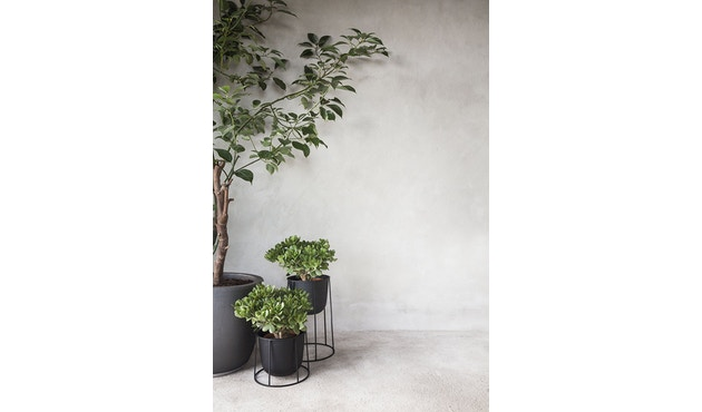 Menu - Wire Pot Blumentopf - schwarz - 8