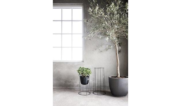 Menu - Wire Pot Blumentopf - schwarz - 10