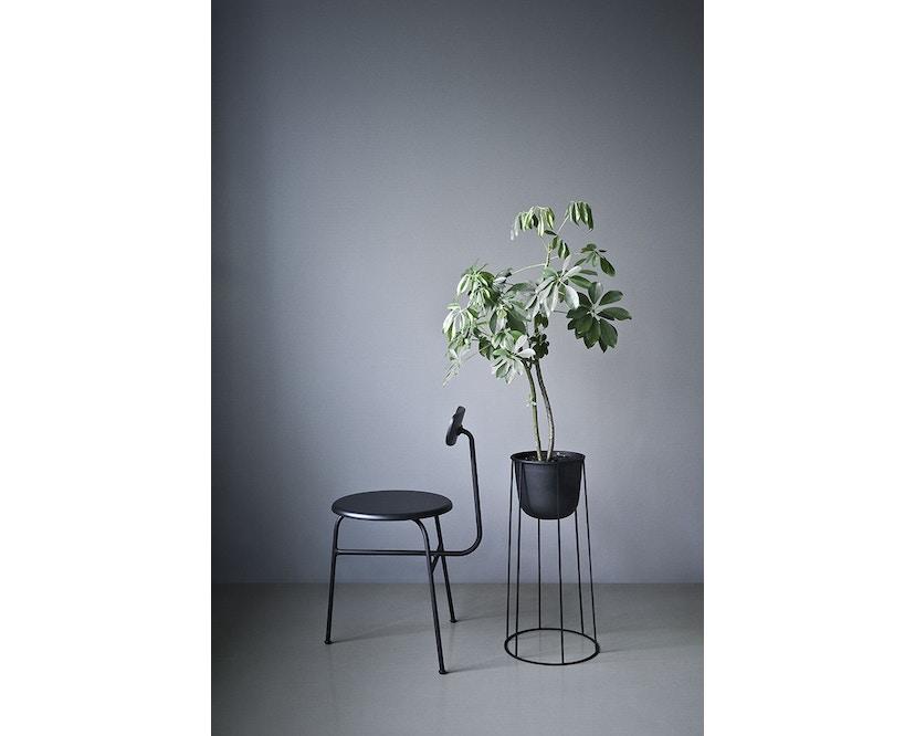 Menu - Wire Pot Blumentopf - weiß - 4
