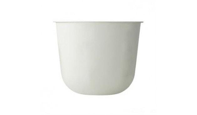 Menu - Wire Pot Blumentopf - weiß - 1