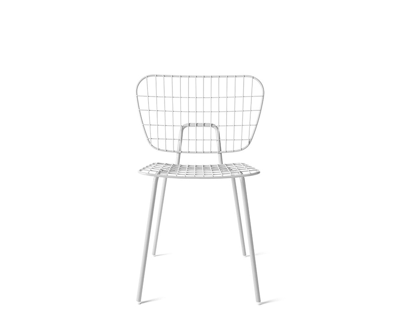 Menu - WM String Dining Chair - weiß - 2