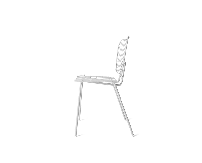 Menu - WM String Dining Chair - weiß - 3