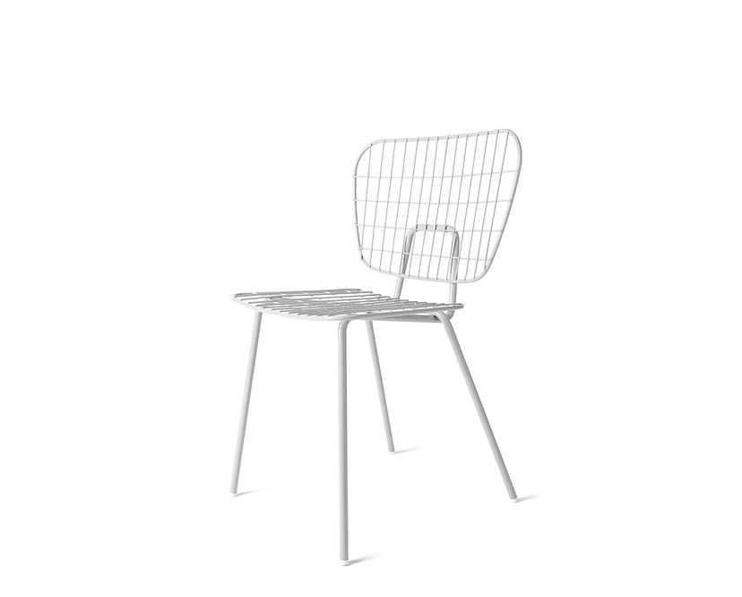 Menu - WM String Dining Chair - weiß - 1