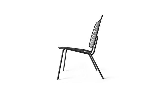 Menu - WM String Lounge Chair - schwarz - 3