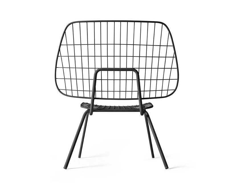 Menu - WM String Lounge Chair - schwarz - 4