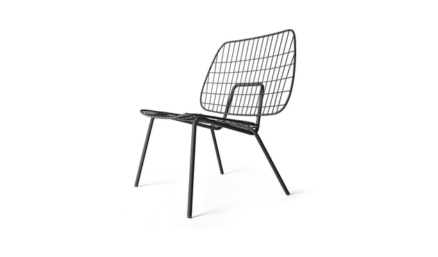 Menu - WM String Lounge Chair - schwarz - 1