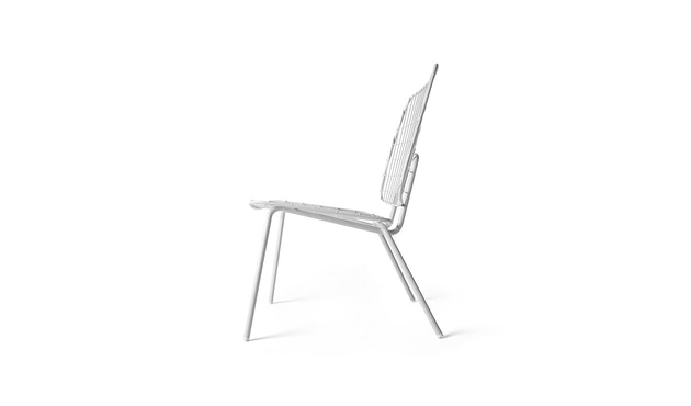 Menu - WM String Lounge Chair - weiß - 4
