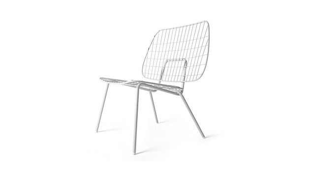 Menu - WM String Lounge Chair - weiß - 1