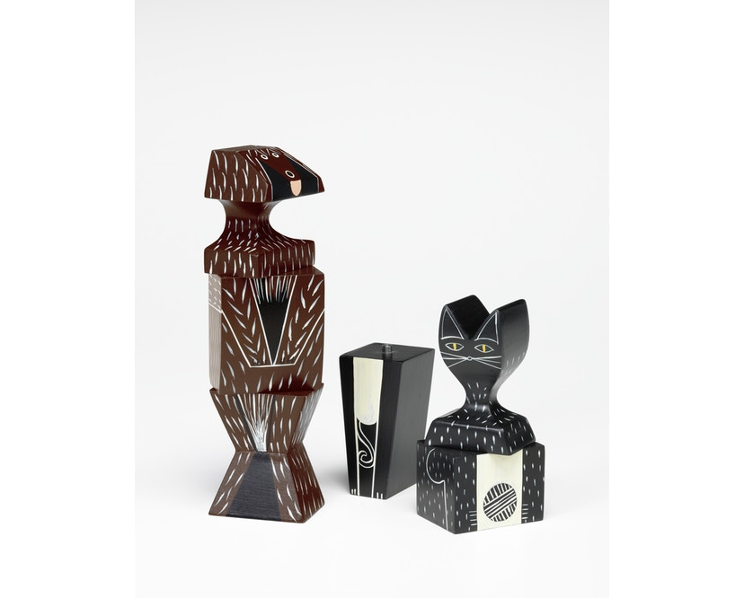 Vitra - Wooden Doll Cat & Dog - 3