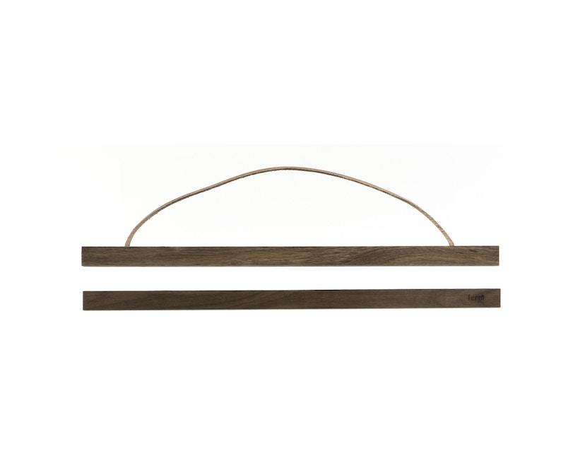 ferm LIVING - Wooden Frame Bilderrahmen - L - geräucherte Eiche - 1