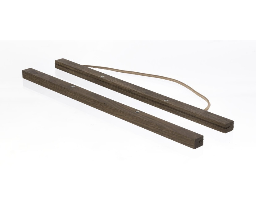 ferm LIVING - Wooden Frame Bilderrahmen - L - geräucherte Eiche - 2
