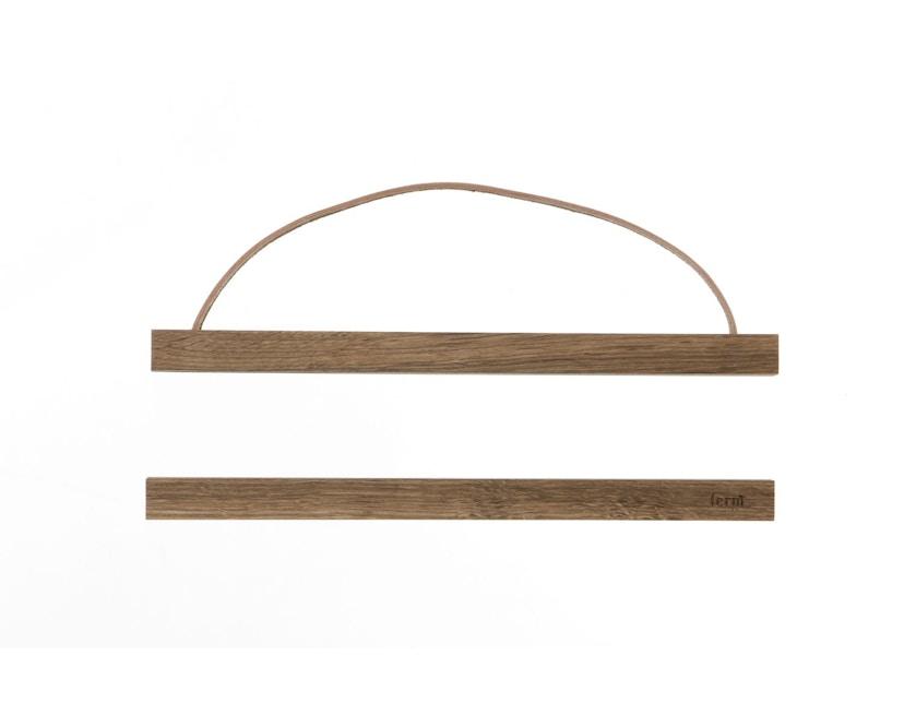 ferm LIVING - Wooden Frame Bilderrahmen - S - geräucherte Eiche - 2