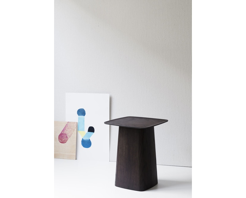 Vitra - Wooden Side Table - Eiche dunkel - S - 4