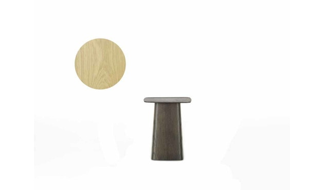 Vitra - Wooden Side Table - Eiche hell - S - 1