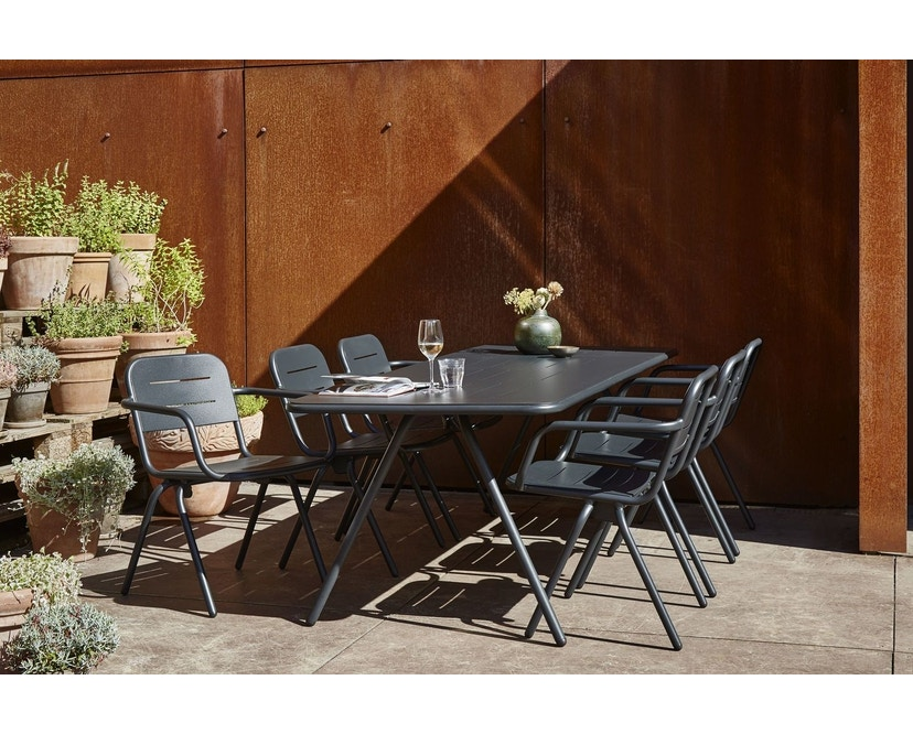 Woud - Ray Dining Stuhl - Charcoal black - 6
